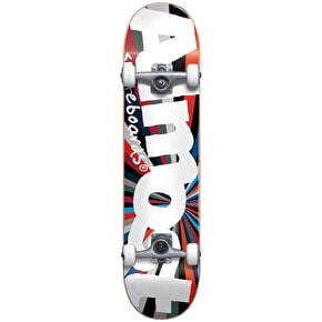 Almost Off Centre Colour Wheel Complete Skateboard - 7.375