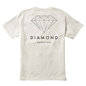 Diamond Brilliant Diamond T-Shirt - Cream