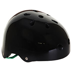B-Stock Slamm Skate Helmet Black - XXS-XS (No Stickers)