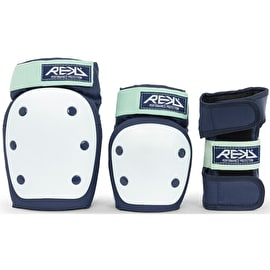 REKD Adult Heavy Duty Triple Pad Set - Blue/Mint