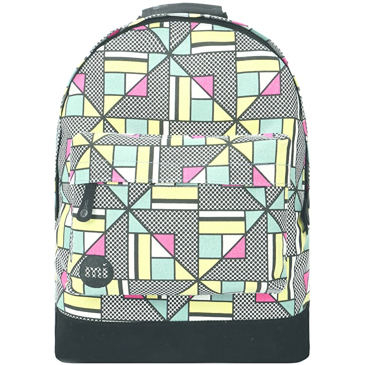 Mi-Pac Canvas Geometric Backpack