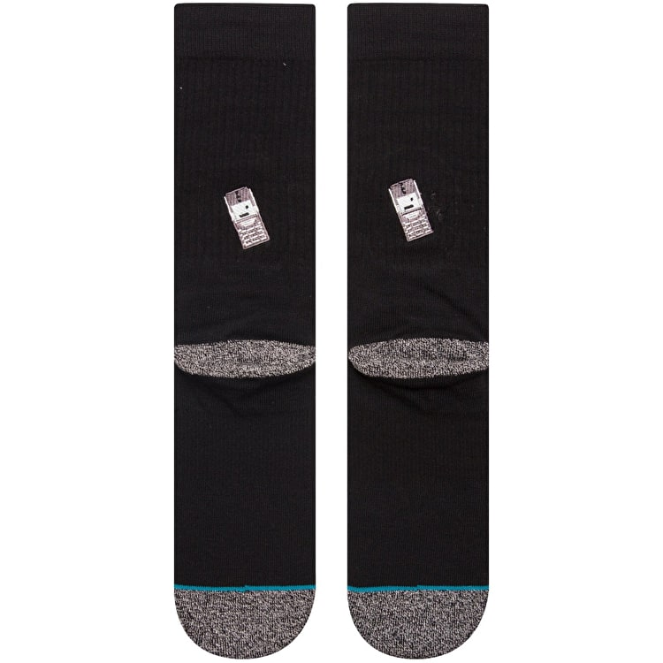 Stance Palm Fire Socks - Black