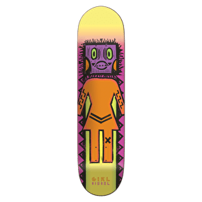 Girl Tiki Skateboard Deck - Biebel 8.125