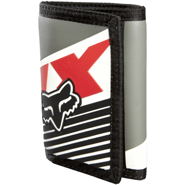 Fox Decadence Velcro Wallet - Charcoal