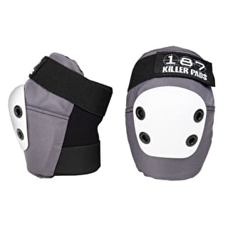 187 Slim Elbow Pads - Grey/White