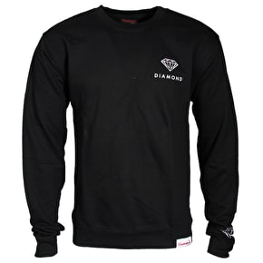 Diamond Futura Sign Crewneck - Black
