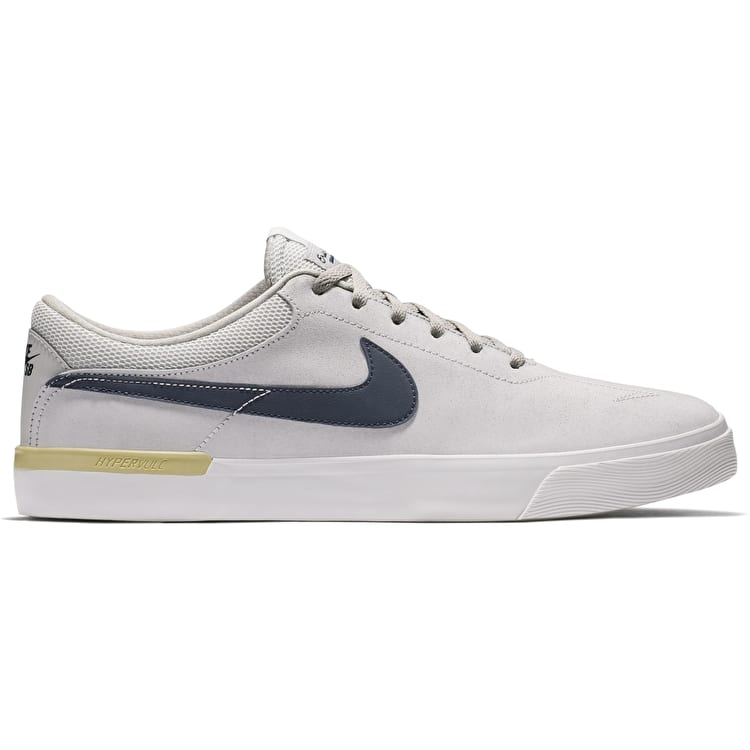 Nike SB Koston Hypervulc Skate Shoes - Light Bone/Thunder Blue