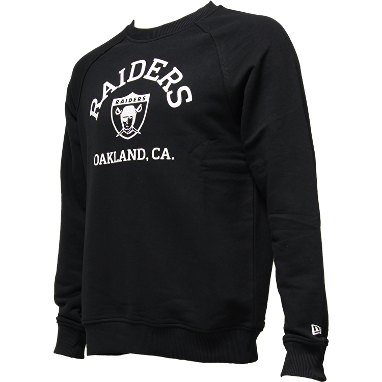 New Era Oakland Raiders Vintage Crewneck Sweater