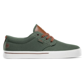 Etnies Jameson 2 Eco Skate Shoes - Olive/Tan