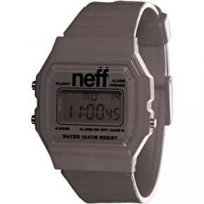 Neff Flava XL Surf Watch - Charcoal