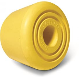 Sure-Grip Bullseye Quad Skate Toe Stops - Yellow (Pack of 2)