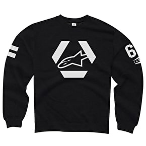 Alpinestars Sniper Crewneck Fleece - Black