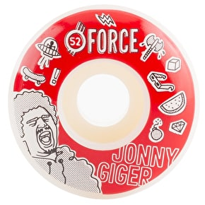 Force Bored Giger Skateboard Wheels - 52mm