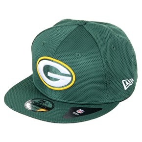 New Era 9FIFTY NFL Green Bay Packers Mesh Cap - Green