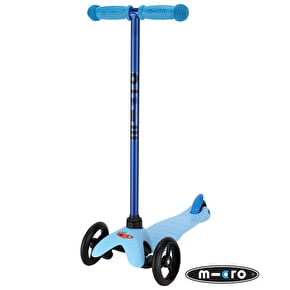 Mini Micro T-Bar Limited Edition Scooter - Candy Blue