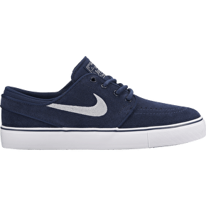 Nike SB Stefan Janoski Kids Shoes - Obsidian/Wolf Grey