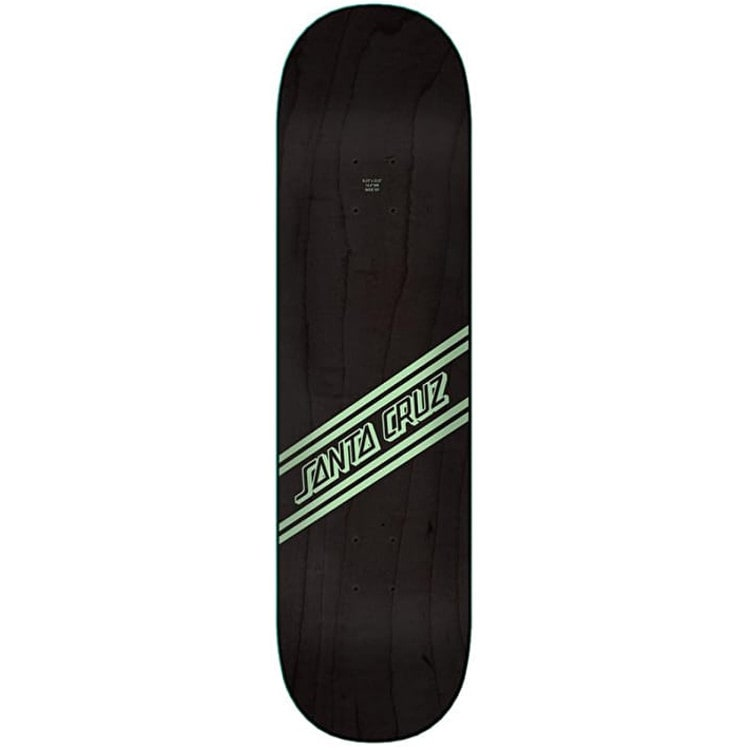 Santa Cruz Street Skate Wide Tip Skateboard Deck - Green/Black 8.25""