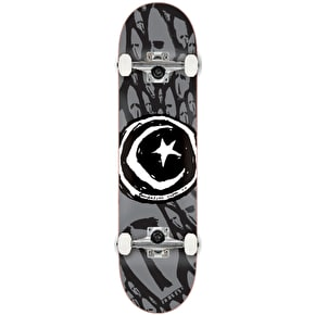 Foundation Star & Moon Complete Skateboard - Skulls 8.125