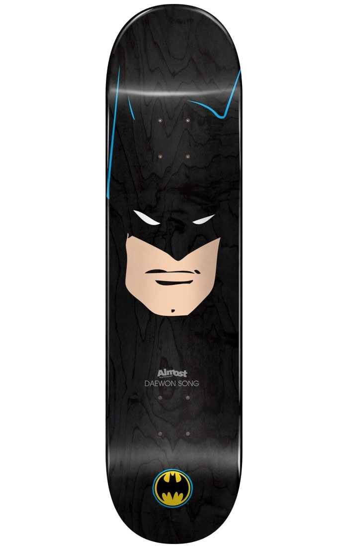 Image of Almost Batman Abstract R7 Skateboard Deck - Daewon 7.75""