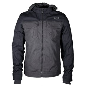 Fox Straightaway Jacket - Heather Black