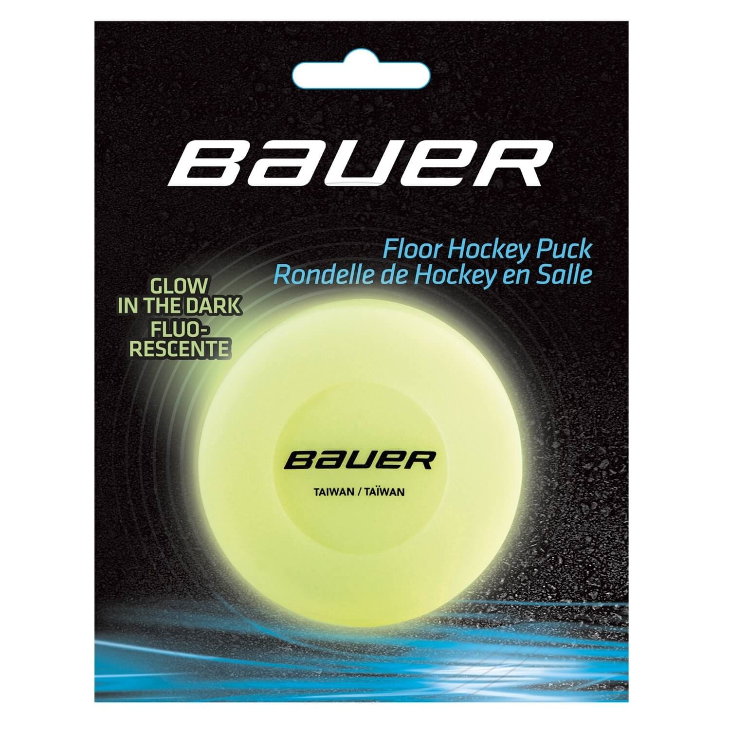 Image of Bauer Glow In The Dark Hockey Puck