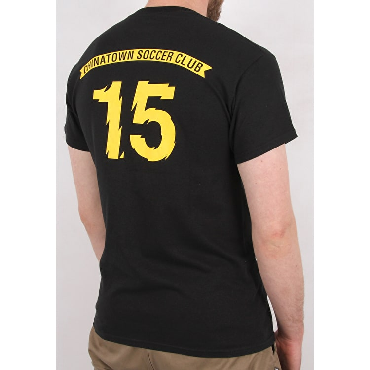 Chrystie X CSC T Shirt - Black/Yellow