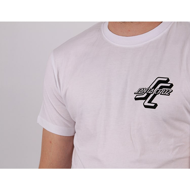 Santa Cruz OGSC Teamrider T-Shirt - White