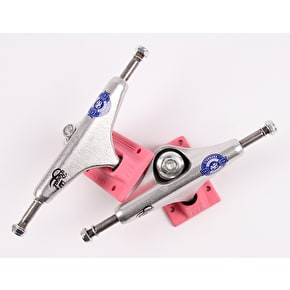 Royal Miami Vice Mini Crown Skateboard Trucks - Pink