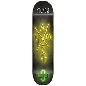 Almost X-Neon R7 Skateboard Deck - Youness 7.75