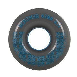 Remember Pee Wee 62mm Longboard Wheels - Charcoal Grey