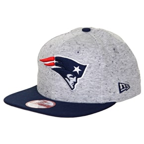 New Era 9Fifty NFL Jersey Team New England Patriots Cap - Grey/Navy