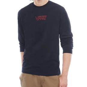 Vans Sketch Tape Longsleeve T-Shirt - Black