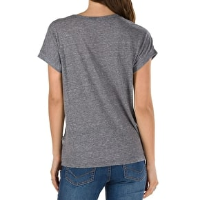 Vans Free Safety Womens T-Shirt - Grey Heather
