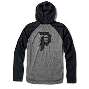 Primitive Dirty P Raglan Hoodie - Grey Heather