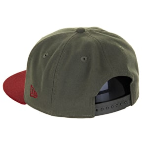 New Era Boba Fett 9Fifty Cap - Olive Green/Red