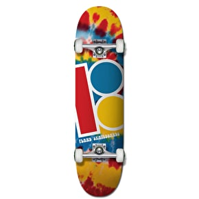 Plan B Team Tie Dye Mini Complete Skateboard - 7.625