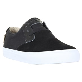 Lakai MJ Skate Shoes - Black Suede