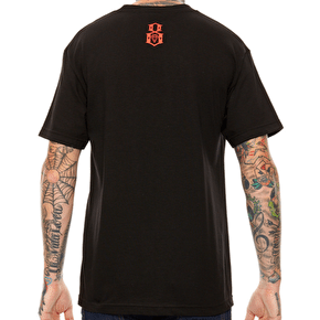 Rebel8 Neon T-Shirt - Black