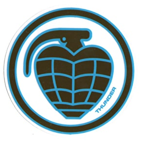 Thunder Circle Grenade Skateboard Sticker - M