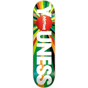 Almost Colour Wheel R7 Skateboard Deck - Youness 8''