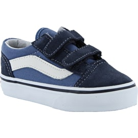 Vans Old Skool V Toddler Skate Shoes - Navy