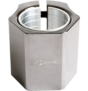 Drone Didi Hive Double Collar Clamp - Smoked Chrome