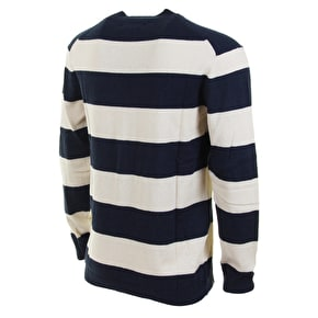 WeSC Artie Knitted Sweatshirt - Navy