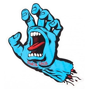 Santa Cruz Screaming Hand Sticker - Small 10cm