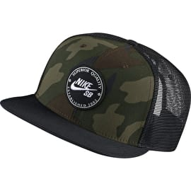 Nike SB Pro Patch Trucker Cap - Medium Olive/Black