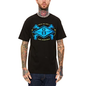 Rebel8 Crossbones T-Shirt - Black