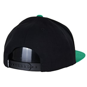 DGK Haters Snapback Cap - Black/Green