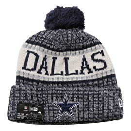 New Era NFL Sideline Beanie 2018 - Dallas Cowboys