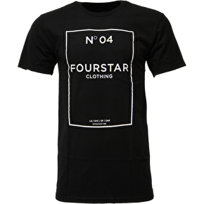Fourstar No.04 T-Shirt - Black