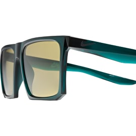 Nike SB Ledge Sunglasses - Dark Atomic Teal/Black With Amber Lens